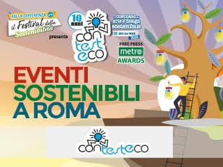 Contesteco evento sostenibile Roma